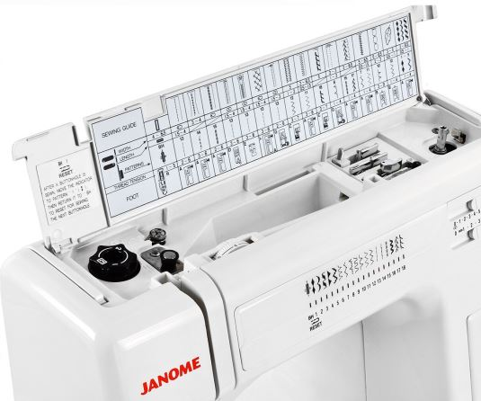 Janome HD3000 Top Opens